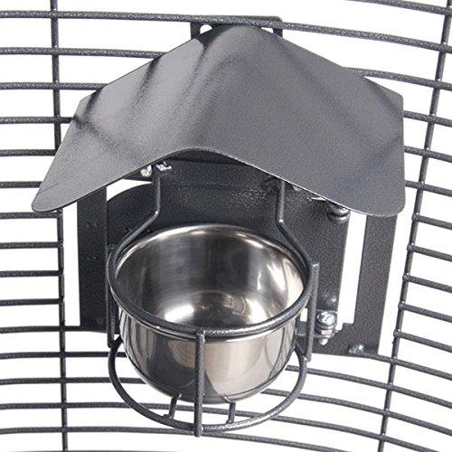 Montana Cages ® | 2er-Set Feeder Shield (Napfdach) - Small Antik