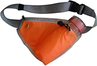 Sport Leisure Waist Pack, Men's and Women's Multifunction Lightweight Waist Bag Can Place A Kettle with Headphone Jack Breathable Comfort Durable Outdoor Sports, Running, Hiking, Etc.