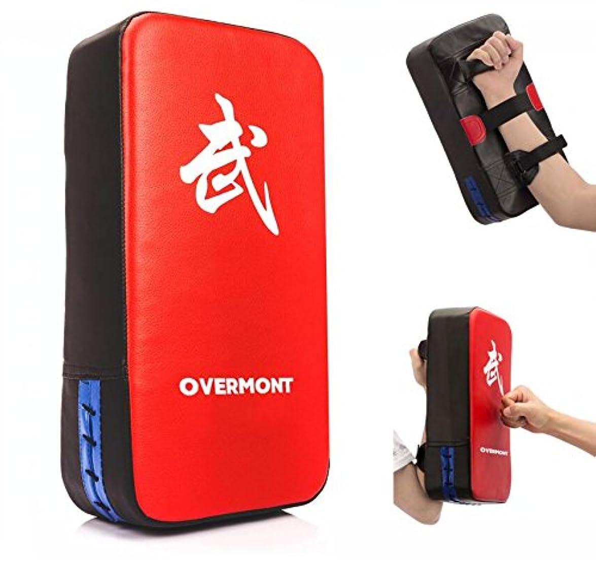 拷問回転曲げるOvermont キックミット パンチングミット キックボクシング テコンドー 空手 総合格闘技 武術 練習 トレーニング ダイエット ストレス解消 子供 初心者に