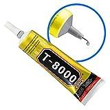 MMOBIEL T-8000 Mehrzweck Flüssig Kleber High Performance Industrie Klebstoff transparent inkl. Präzisionstipp für