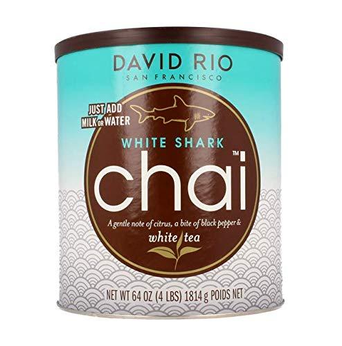 David Rio - White Shark Chai | Chai Tee mit weißem Tee, Zitrone und Pfeffer | Dose | Gastronomie | 1814g