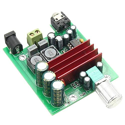 Nrpfell TPA3116D2 Subwoofer Placa de Amplificador de Potencia Digital TPA3116 Amplificadores MóDulo de Audio de 100 W NE5532