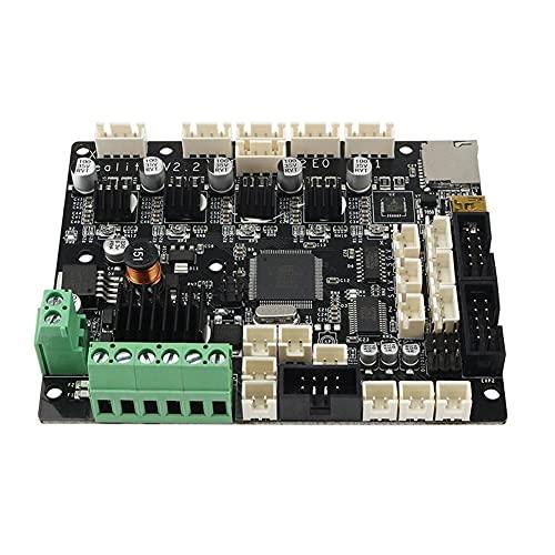 Moligin Controlador Industrial Accesorios Ender 5 Plus Placa SILENCIA Impresora 3D Mejore la Placa Base del Silencio con el Controlador TMC2208