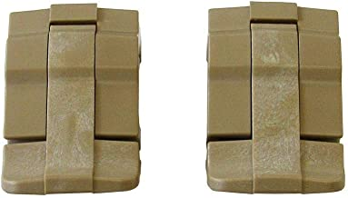 2 Tan Replacement latches for Pelican Cases.