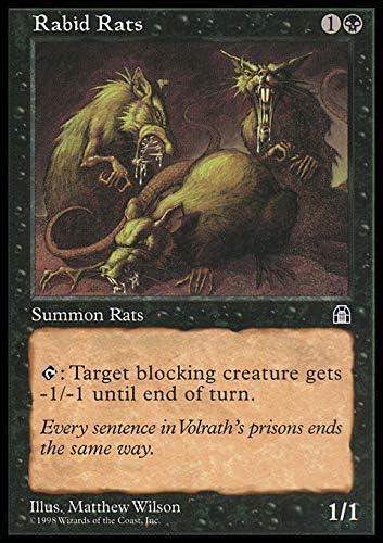 4x Lab Rats MTG Stronghold NM Magic Regular