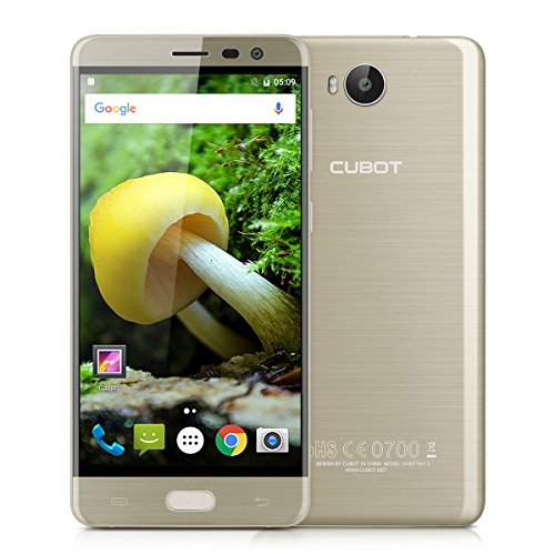 CUBOT Cheetah 2 - Smartphone 4G Android 6.0 (MT6753, Octa-Core, 1.3GHz 5.5'', 3GB RAM 32GB ROM, 8MP+13MP Camera, Play Store, Dual SIM, Wifi, OTG, GPS) Oro