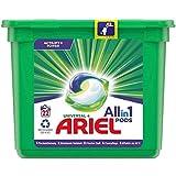 Ariel Waschmittel Pods All-in-1, Strahlend Rein, Umweltschonendes Waschen, 22 Waschladungen