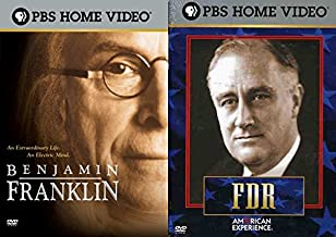 PBS Documentary Presidential American History Collection - FDR: An American Experience (2-Disc Set) & Benjamin Franklin 2-Movie Bundle