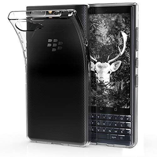kwmobile Hülle kompatibel mit BlackBerry KEYtwo LE (Key2 LE) - Handyhülle - Handy Case in Transparent