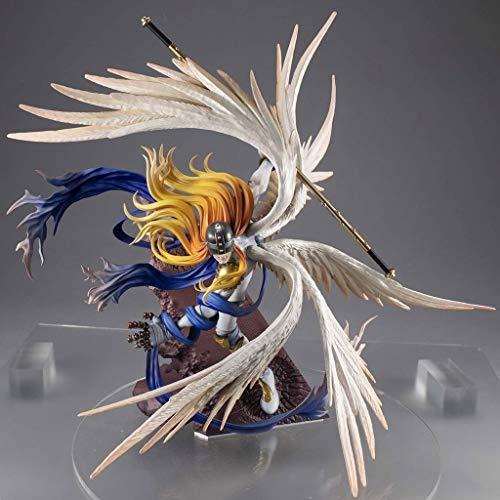 GJLMR Digimon Adventure Figure Angemon (Battle Ver.) XCJSWZZ