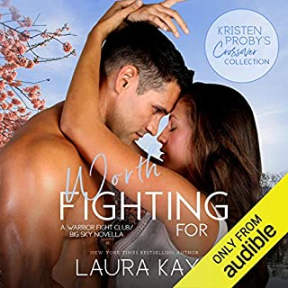 Worth Fighting For     A Warrior Fight Club - Big Sky Novella              Written by:                                                                                                                                 Laura Kaye                               Narrated by:                                                                                                                                 Andi Arndt                      Length: 4 hrs and 52 mins     Not rated yet     Overall 0.0