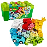 LEGO DUPLO Classic - Caja de Ladrillos, Juguete de Construcción Educativo, Incluye Bloques de Construcción de Colores y Caja de Almacenaje (10913)