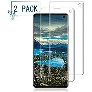 2 Pack Galaxy S10 Screen Protector/Anti-Scratch/Anti-Fingerprint/Anti-Bubble/Compatible with in-Display Fingerprint Sensor BBInfinite Glass Screen Protector Compatible Samsung Galaxy S10