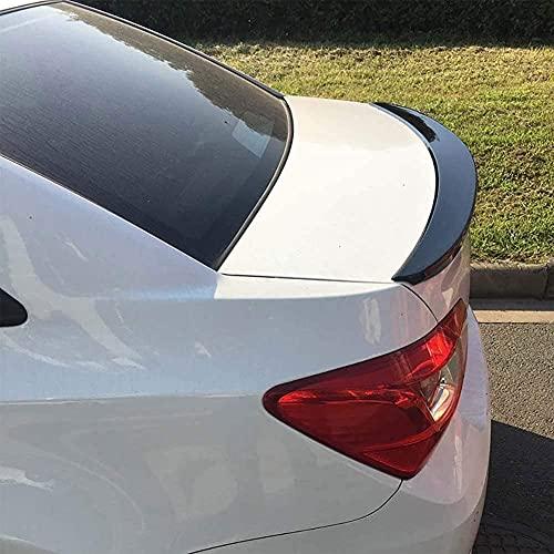 jjyyh Coche ABS Fibra Carbono AleróN Trasero para Chevrolet Cruze 2013-2016, Trunk Cola Lip Rear Spoiler Techo ala AleróN Maletero, Coche Interior Estilo Accesorios