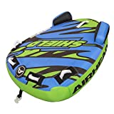 Airhead Shield | 1-2 Person Towable Tube for Boating Blue, Large