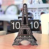 Relojes de Alarma Torre Eiffel Flip Página de la Página de la...