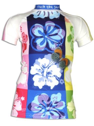4BB2 M/ädchen UV Schutz Schwimmshirt Candyce