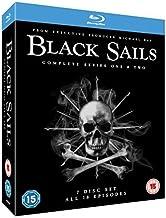 Black Sails (Complete Seasons 1 & 2) - 7-Disc Box Set ( Black Sails - Seasons One and Two (18 Episodes) ) [ Origen UK, Ningun Idioma Espanol ] (Blu-Ray)