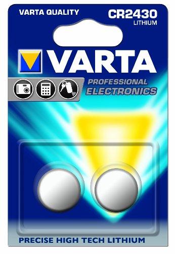 Varta Piles électroniques CR 2430BLI 2–Lot de 2x 2(4piles)
