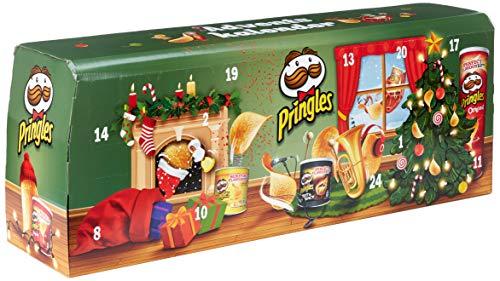"""Pringles"" Chips-Adventskalender Grün"