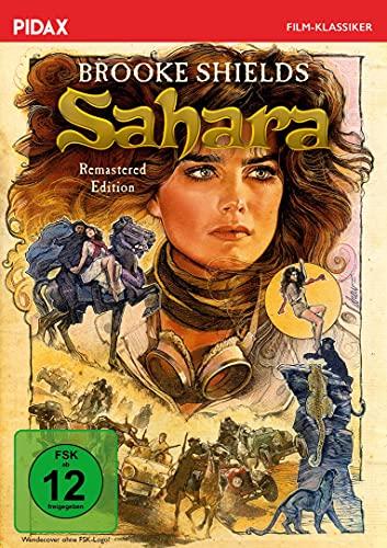 Sahara - Remastered Edition / Kultiger Abenteuerfilm mit Brooke Shields (DIE BLAUE LAGUNE) (Pidax Film-Klassiker)