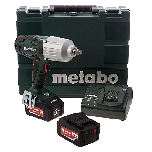Metabo 6.02198.65 accu-slagschroevendraaier SSW18LTX 600 2x5,2 Ah