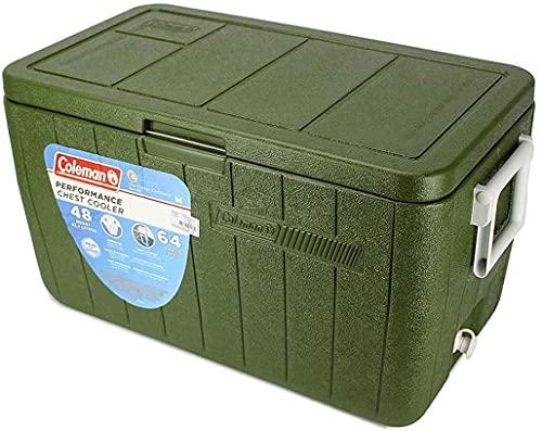 Caixa Térmica 48 QT (45,4 L) Verde Militar