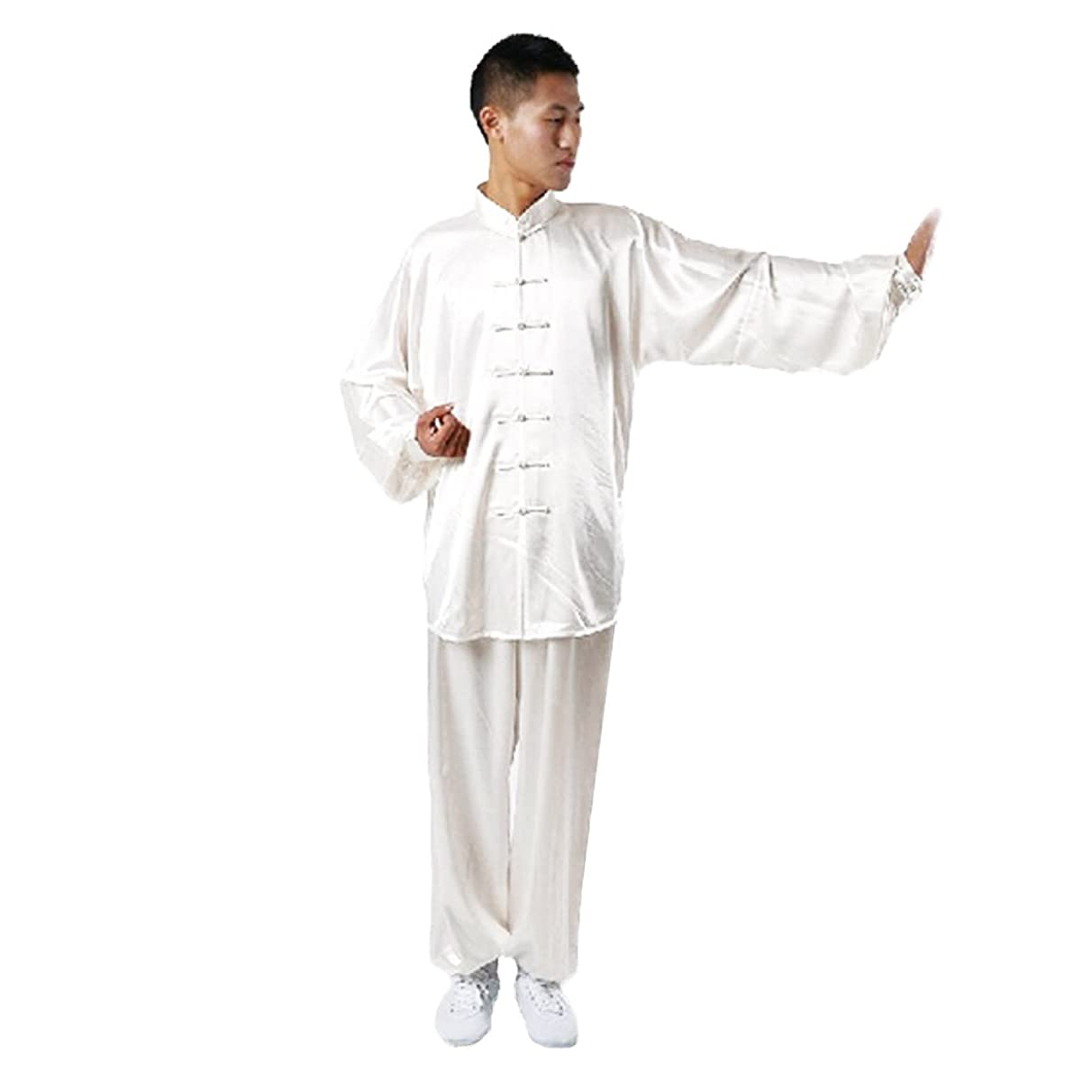 Andux Chinese Traditional Tai Chi Uniforms Kung Fu Clothing Unisex SS-TJF01