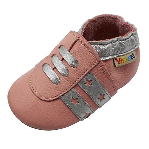 Yalion , Chaussures souple pour bébé (garçon) - - Rosa, 18-24 Monate