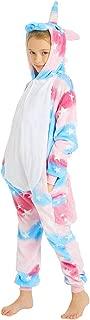 CASABACO Kid Unicorn Onesie Pajamas Costume Boy Girl Animal Halloween Christmas