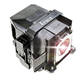 Araca ELPLP88 /V13H010L88 Replacement Projector Lamp with Housing for Epson EX7240 EX3240 EX9200 VS240 EB-X31 EX5240 TW5350 VS340 VS345 EB-U04 EX5250 H682 H683 /PowerLite 98H 2040 2045 740HD H719A