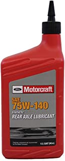 Ford Genuine Fluid XY-75W140-QL SAE 75W-140 Synthetic Rear Axle Lubricant - 1 Quart - Pack of 4