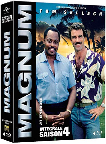 Coffret magnum, saison 4 [Blu-ray] [FR Import]