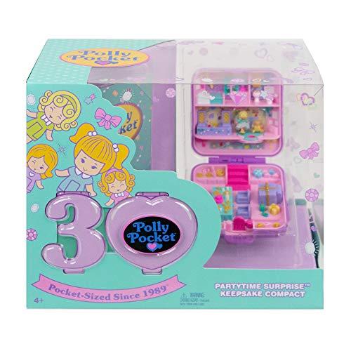 Polly Pocket- Cofanetto Celebrativo Compleanno, da Collezione Giocattolo per Bambini 4+Anni, Multicolore, GJJ51