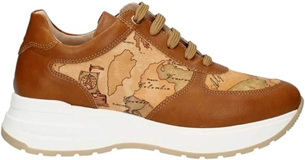 Ritmo shoes, scarpe sneakers geo classic per donna, di alviero martini, in vera pelle N09370518