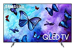 "Samsung Electronics QN75Q6FNAFXZA Flat 75"" QLED 4K UHD 6 Series Smart TV 2018"