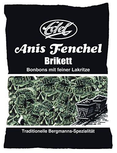 Anis-Fenchel-Brikett 150 g Beutel Edel-Bonbon
