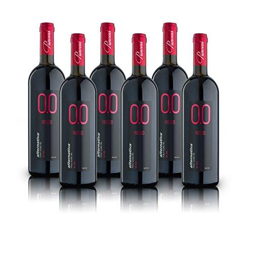 alternativa® - Rosso Dry - 0.0{f9f404a57139fbc8346568ea22fdb2a8e37ec69189c9209fc6bfff41a72d483c} vol (confezione 6 bottiglie 750ml)