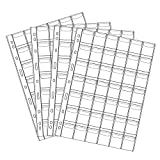 42 Pocket Coin Pages,Gogoaie 10 Sheets Plastic Coin Holders Stamp Collector Supplies for C...