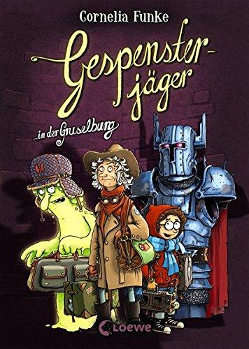 Gespensterjäger in der Gruselburg: Vierfarbig illustrierte Ausgabe für Kinder ab 8 Jahre