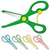 Tijeras infantiles de seguridad, color rojo, azul, amarillo o verde, color Gruen