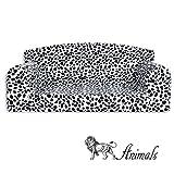 Animal - Sofá para mascota, diseño de dálmata,cama de 3tamaños para perro,funda de material de alta calidad,fabricado en el Reino Unido