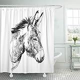 Emvency Shower Curtain Set Waterproof...