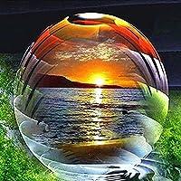 ダイヤモンドの絵画 ダイヤモンド絵画フルスクエアドリル風景ダイヤモンド刺繡ガラスボールラインストーン写真家の装飾アート