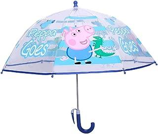 Umbrella Children Kids PVC Clear Dome Design Brolly Girl, Boy