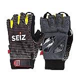 SEiZ RAD-Handschuh Guantes de Ciclismo con Dedos Cortos, 9
