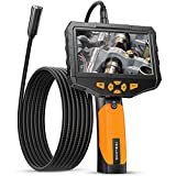 """Auto Focus Endoscope Camera, Teslong HD Autofocus Handheld Waterproof Borescope Inspection Camera with 4.5"""" IPS Monitor - Always The Best Depth of Field - 32GB Memory Card & Tool Case Included"""
