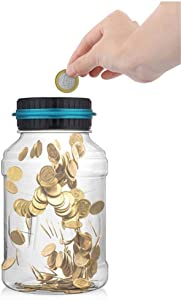 Piggy Bank-Counter coin electronic digital counting coin piggy bank