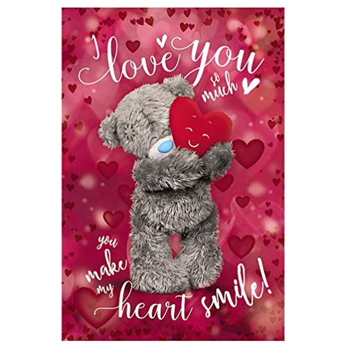 Me To You - I Love You So Much - 3D Holographic Valentine's Card