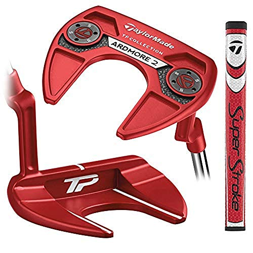 TaylorMade N1540326 Tour Preferred Putter Red Collection...